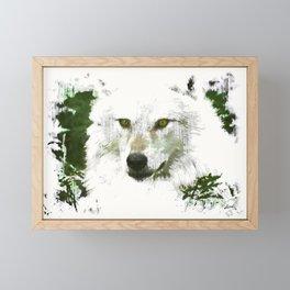 Mystical Wolf Framed Mini Art Print