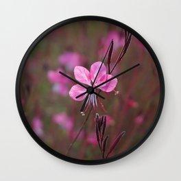 Pink beauty Wall Clock