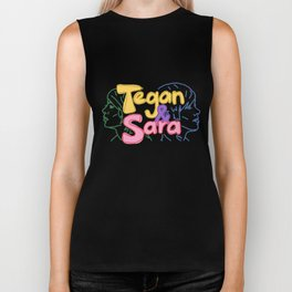 Tegan and Sara Biker Tank