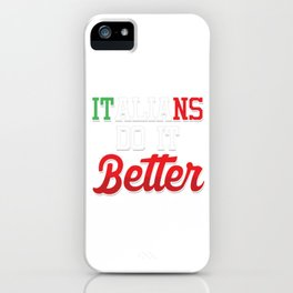 Italy Football Team Flag Europe Catalan Rome Italians Awesome Gift iPhone Case