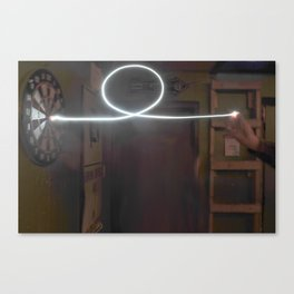 Magic Dart Canvas Print