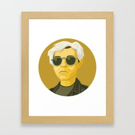 Queer Portrait - Andy Warhol Framed Art Print