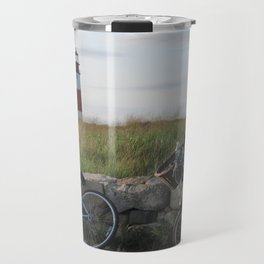 Sankaty Head Lighthouse Travel Mug