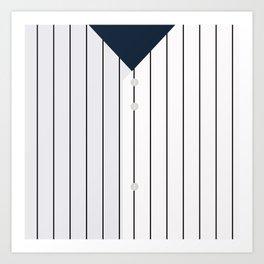 Baseball - NY Yankees Art Print
