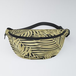 Tropical Island Gold Fanny Pack