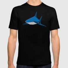 Shark Mens Fitted Tee Black MEDIUM
