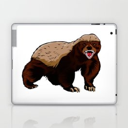 Honey badger illustration Laptop & iPad Skin
