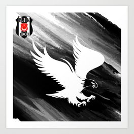 besiktas Art Print