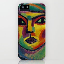 Alexej von Jawlensky - Reife - Maturity iPhone Case