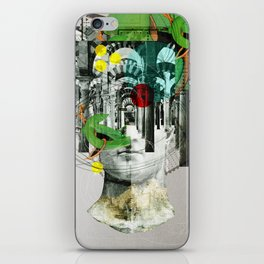 It´s all in your mind · Statue 3x iPhone Skin