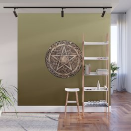 Brigid's Pentacle Wall Mural