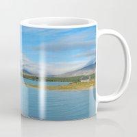 new zealand Mugs featuring New Zealand by PeteJoey