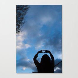 Love Thee Canvas Print