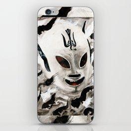 Lucha Libre-peaceman iPhone Skin