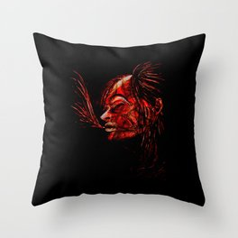 C2 - The Breathing Woman Throw Pillow