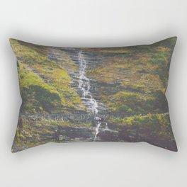 Bird Woman Falls Rectangular Pillow
