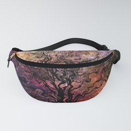 Van Goghs Orion Nebula by Barbara Chichester Fanny Pack