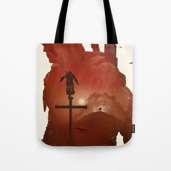 Assasins Creed 3 Tote Bag