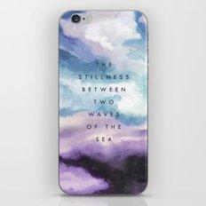 Stillness [Collaboration with Jacqueline Maldonado] iPhone & iPod Skin