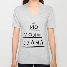 Basquiat No More Drama Unisex V-Neck
