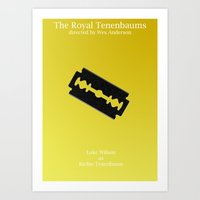 tenenbaum Art Prints featuring Richie Tenenbaum by Italyprayer