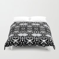 gothic Duvet Covers featuring Gothic #2 by Ornaart