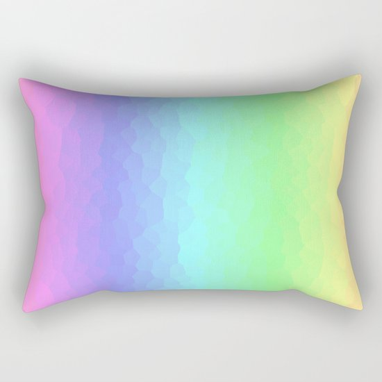 Vertical Pastels Rectangular Pillow