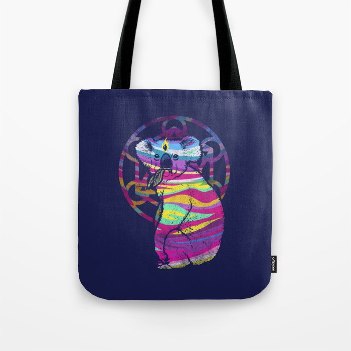 Enlightended  Koala Tote Bag