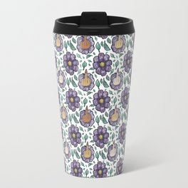 fuck flower Travel Mug
