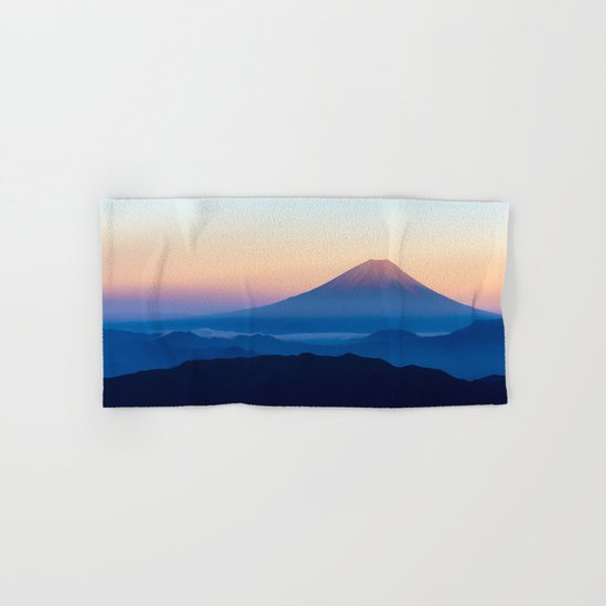 Mount Fuji Hand & Bath Towel