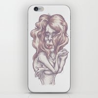 lonely iPhone & iPod Skins featuring lonely by zakihamdani