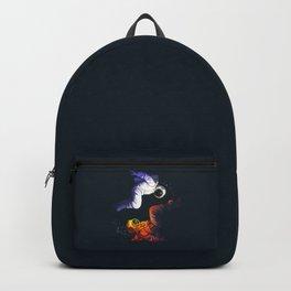 Yin Yang Astronaut Scuba Backpack