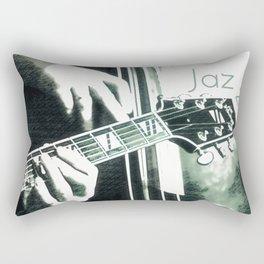 Double bass and Guitar Rectangular Pillow