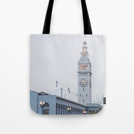 At the Ferry Building in San Francisco Tote Bag