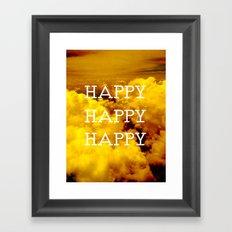 Happy Happy Happy II Framed Art Print