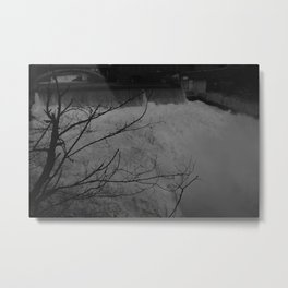 Black Zones of Shadow Metal Print
