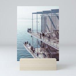 Centro Botin, Santander   Sea & Architecture   Film Photo Print Mini Art Print
