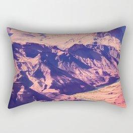 closeup desert at Grand Canyon national park, USA Rectangular Pillow