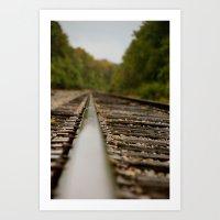 railroad 2 Art Print