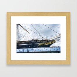 The Cutty Sark Framed Art Print