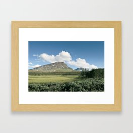 Abisko Framed Art Print