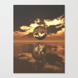 The Orb Canvas Print