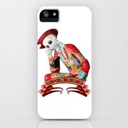 Calavera Hombre iPhone Case