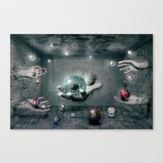 Raum-Abenteuer 3 Canvas Print