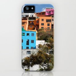 Gunajuato colorful buildings iPhone Case