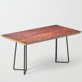 Percolated Sunset in Warm Tones Coffee Table