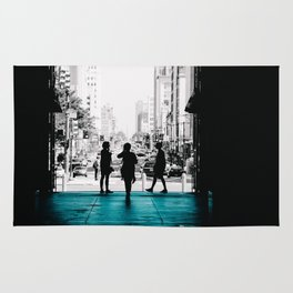 Strangers in the City Rug