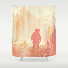 Dragon Age: Varric Shower Curtain