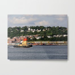 The Tugboat Metal Print