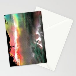 Sky Of Too Many Colors Stationery Cards